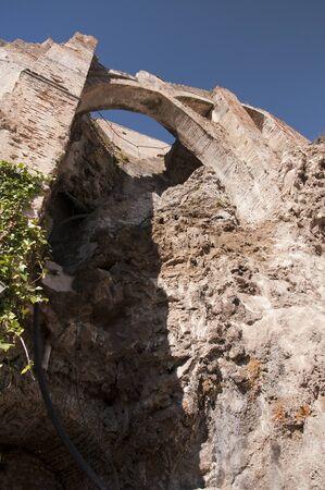 Defensive walls in Frigiliana Spain Stock Photo - 17561712