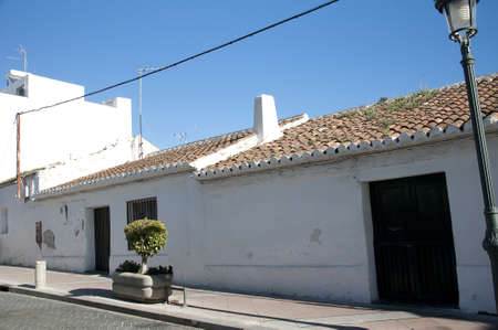 One of the last few original Fishermens cottages in Nerja Andalucia Spain Stock Photo - 17561965