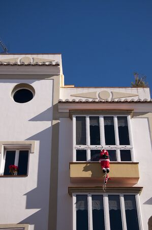 Father Christmas Spanish Style in Nerja Spain photo