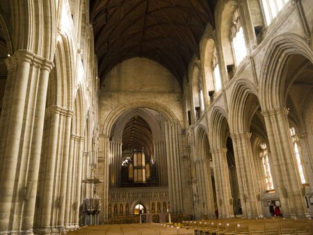 saxon:  Ripon Cathedral in Yorkshire England