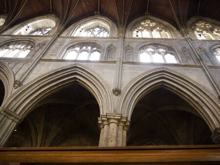 reredos:  Ripon Cathedral in Yorkshire England