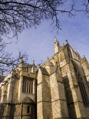 The cathedral of St Wilfrid in Ripon Yorkshire Stock Photo - 17903707