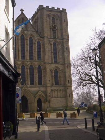 The cathedral of St Wilfrid in Ripon Yorkshire