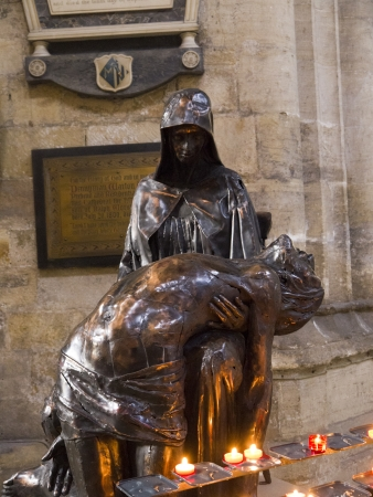 Pieta in Ripon Cathedral Yorkshire England Stock Photo - 18002132