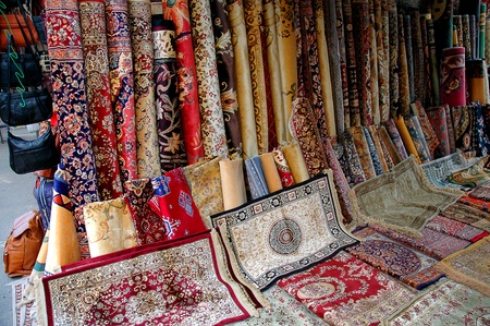 Rugs on Market in Benalmadena Spain photo