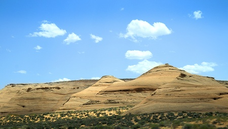 mohave: Hills in the Mohave desert Nevada USA