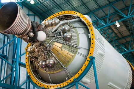 cape canaveral: Kennedy Space Centre, Cape Canaveral, Florida, USA Editorial