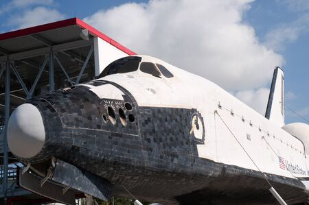 re fuel: Former Shuttle Vehicle now a Museum Exhibit at the Kennedy Space Centre Florida