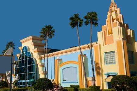 cocoa beach: Architecture in Cocoa Beach Florida USA Stock Photo