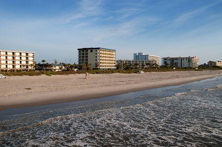 surf shop: Beautiful Beach in Cocoa Beach Florida USA