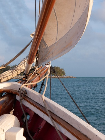 Sunset Sailing trip off Key West Florida USA photo