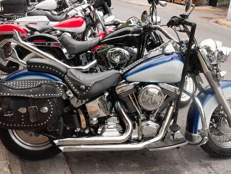 Motorbike in Key West Florida USA photo