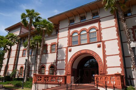 augustine: Proctor Library in St Augustine Florida USA