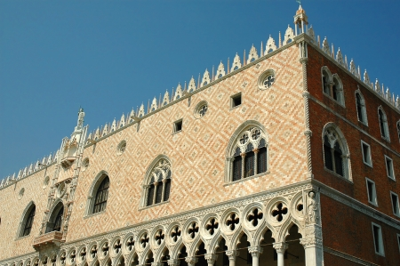 Doges Palace in Venice Italy