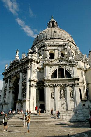 Church of Santa Maria della Salute in Venice Italy Stock Photo - 18560073