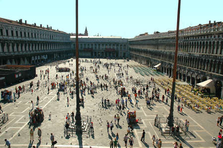 st mark's square: St Marks Square in Venice Italy