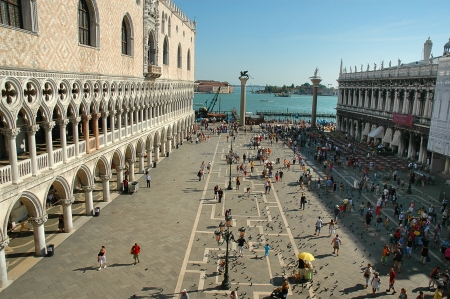 Doges Palace in Venice Italy Stock Photo - 18614087