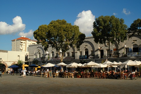 Casemates Square on the Rock of Gibraltar