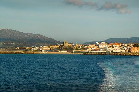 tarifa: Leaving Tarifa on the south Coast of Spain for Africa Editorial