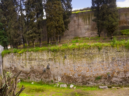 augustus: Mausoleum of Augustus now being renovated in Rome Italy