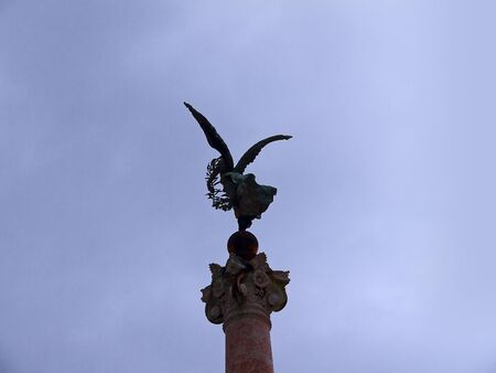 Monument to King Vittorio Emmanuele, the Vittoriale in Rome Italy