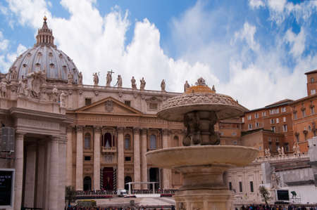 st  peter's square: St Peters Square in Rome Italy
