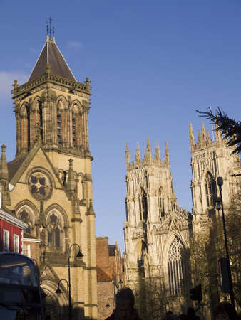 york minster: York Minster and St Wilfred Editorial