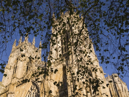 York Minster is a Gothic cathedral in York, England and is one of the largest of its kind in Northern Europe.