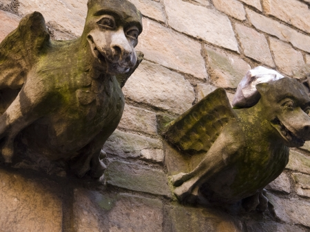 Gargoyles on St Martin
