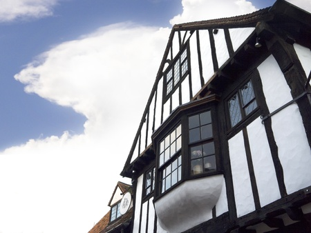Ancient Building in the Shambles Area of York England