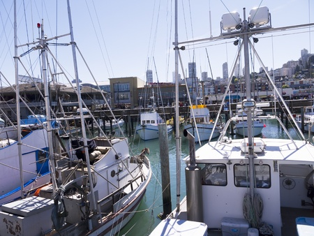 Marina at Fishermans Wharf San Francisco USA