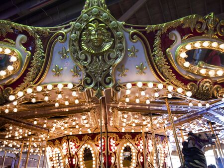 klondyke: Carousel on in Seattle Washington USA