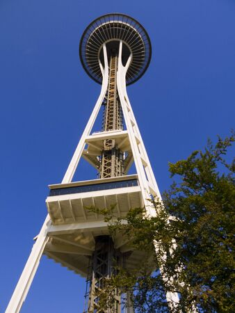 Space Needle tower in Seattle Washington USA Stock Photo - 19325750
