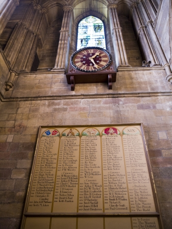 lewis carroll: Past encumbants of Ripon Cathedral North Yorkshire