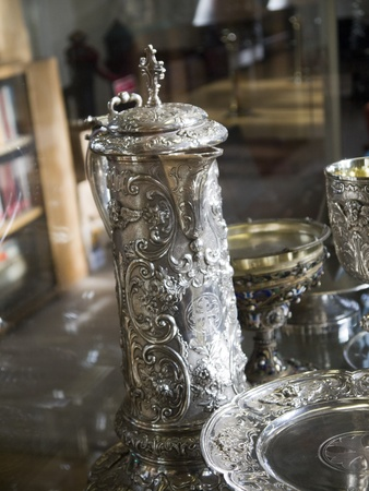 lewis carroll: Silver treasures of Ripon Cathedral Yorkshire