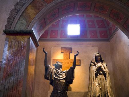 santa barbara: the Spanish Mission at Santa Barbara California USA