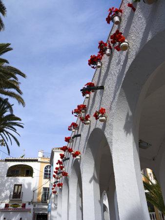 nerja: the Balcon de Europa in Nerja Spain