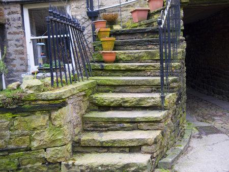 wensleydale: Hawes en Wensleydale en el Yorkshire Dales Inglaterra
