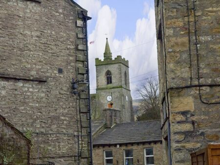 Hawes in Wensleydale in the Yorkshire Dales England