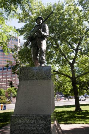 War Memorial in Denver Colorado USA