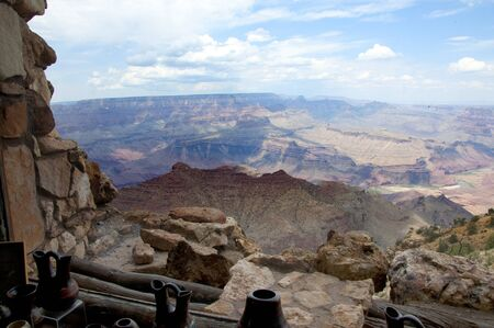 Desert View Watch Tower in Grand Canyon National Park Arizona