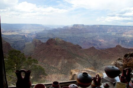 Desert View Watchtower in Grand Canyon National Park Arizona USA