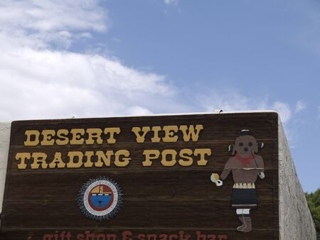 Desert View Trading Post in Grand Canyon National Park Arizona