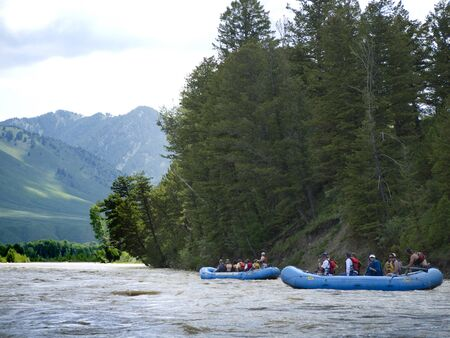 Snake River Rafting in Grand Tetons National Park