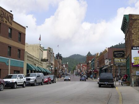 deadwood: Main Street Deadwood  South Dakota