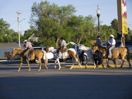 cody: Cowboys in Cody Editorial