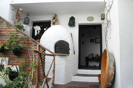 Village Bread oven in Mijas Andalucia Spain