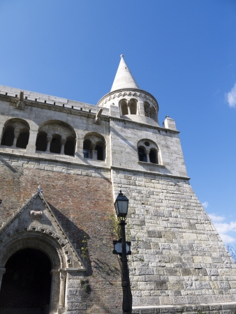 bastion: fishermans bastion in Budapest Hungary