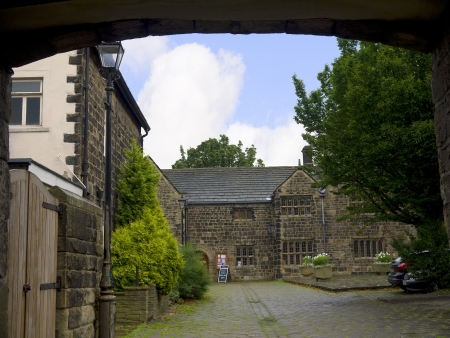 wharfedale: Ilkley is a spa town in West Yorkshire, in the north of England