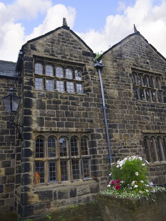 Manor House in Ilkley which is a spa town in West Yorkshire, in the north of England.